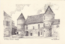 YVES DUCOURTIOUX - Sites Et Monuments - N° 7852 - Poissy - Abbaye - Andere Zeichner