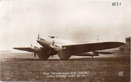 Avion Transatlantique René Couzinet - Moteur Hispano-Suza 180 CV  (121551) - Autres