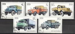 Sowjetunion 5630/34 O Lasttkraftwagen - Usados
