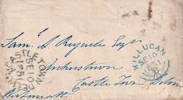 GRANDE BRETAGNE 1851 LETTRE DE KILLUCAN - ...-1840 Precursores