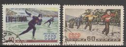 Sowjetunion 1619/20 O Wintersport - Usados