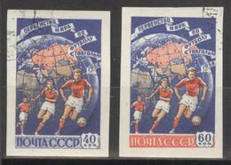 Sowjetunion 2089/90B O Fußball-WM 1958 - Usados