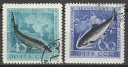 Sowjetunion 2244/45 O Fische - Usados