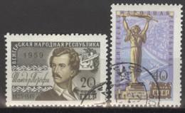 Sowjetunion 2286/87 O 10 Jahre VR Ungarn - Usados