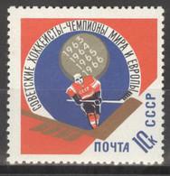 Sowjetunion 3212 ** Postfrisch Eishockey - Unused Stamps