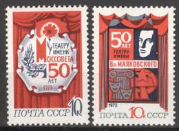 Sowjetunion 4094/95 ** Postfrisch Moskauer Theater - Nuevos