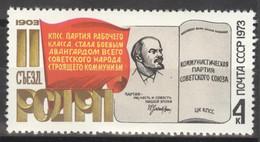 Sowjetunion 4136 ** Postfrisch 7. Jahrestag Parteitag - Nuevos