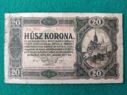 Ungheria 20 Korona 1920 - Ungheria