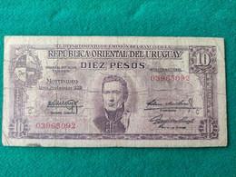 Uruguay 10 Pesos 1939 - Uruguay