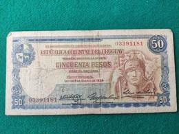 Uruguay 50 Pesos 1939 - Uruguay