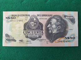 Uruguay 50 Pesos 1987 - Uruguay