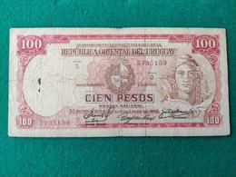 Uruguay 100 Pesos 1939 - Uruguay