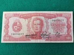 Uruguay 100 Pesos 1967 - Uruguay