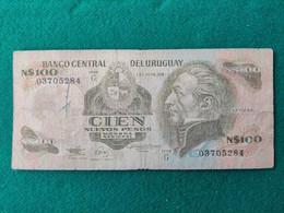 Uruguay 100 Pesos 1987 - Uruguay