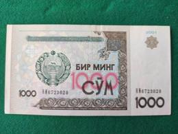 Uzbekistan 1000 Somma 2001 - Uzbekistan