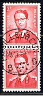 BELGIQUE 2238 // YVERT 925X2 // 1953 - Usados