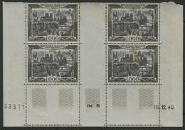 Poste Aérienne N° 29 Bloc De 4 COTE 660 € Avec Coin Daté Du 16/12/49 Neuf ** (MNH) Voir Description - 1927-1959 Mint/hinged