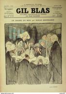GIL BLAS-1896/31-SARAH BERNHARDTRAPT-JEAN MARIE MESTRALLET-P.QUINSAC - Le Petit Journal