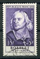 RC 20665 FRANCE COTE 25€ N° 990 BOSSUET ÉMIS EN 1954 OBLITÉRÉ TB - VFU - Used Stamps