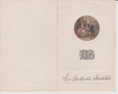 25 – MORTEAU – MENU DE L'HOTEL DU COMMERCE - 13 Octobre 1921 - Menu