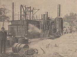 G2904 Route De Versailles A Villacoublay - Mélange Asphaltique - 1921 Old Print - Stampe & Incisioni