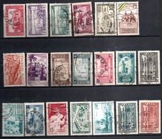 Petit Lot De Bons Timbres Semi Modernes Du Maroc - Verzamelingen (in Albums)