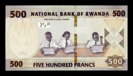 Ruanda Rwanda 500 Francos 2019 Pick New SC UNC - Ruanda-Urundi