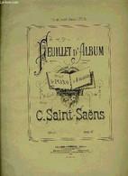FEUILLET D'ALBUM - SAINT-SAENS C. - 0 - Music
