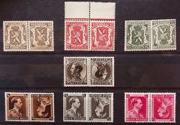 België, 1934-37 -- Nr KP16-22, Postfris **, OBP 9.5€ - Kehrdrucke