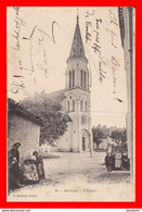 CPA (47) BARBASTE. L'église, Très Animé...C6 - Chiese E Cattedrali