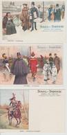 SOLEIL DU DIMANCHE JOURNAL DES FAMILLES 12 CARTES DES 12 MOIS DE L'ANNEE - Advertising