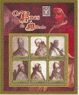 ANGOLA 2000 Popes Of The Millennium - Papas