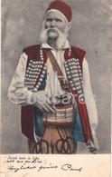 Junak Sam Iz Like - Man From Lika - Folk Costumes - Old Postcard - 1908 - Croatia - Used - Croatia