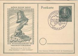 Berlin Ganzsache P25 Sonderstempel Ungelaufen - Postkarten - Gebraucht