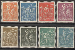 Deutsches Reich 238/45 ** Postfrisch - Unused Stamps