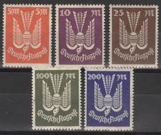 Deutsches Reich 263/67 ** Postfrisch - Unused Stamps