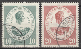 DDR 684/85 O Tagesstempel - Used Stamps