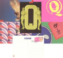 Norwegen Ganzsachenkarten-Set LP18/01-05 O - Postal Stationery