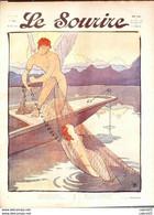 LE SOURIRE-1911- 43-Journal Humoristique-CARLEGLE MONTASSIER HERMANN GERBAULT - 1900 - 1949