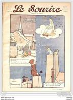 LE SOURIRE-1911- 51-Journal Humoristique-DELAW CARLEGLE NAM FABIANO ROWLEY - 1900 - 1949