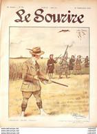 LE SOURIRE-1912- 39-Journal Humoristique-BERTRAND PAVIS CARLEGLE GUILLAUME CREPI - 1900 - 1949
