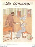 LE SOURIRE-1912-  4-Journal Humoristique-HEMARD CARLEGLE ORLAN HERMANN TRUCHET - 1900 - 1949
