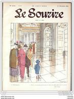 LE SOURIRE-1913- 51-Journal Humoristique-CAPY CARLEGLE FLORES NOB - 1900 - 1949