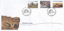 UNO Kosovo 35/37 FDC - Lettres & Documents