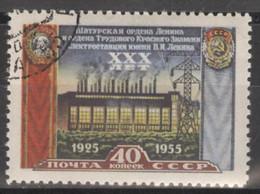 Sowjetunion 1897A O Schatura-Elektrizitätswerk - Usados