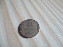 Djibouti - 20 Francs 1977.N°2291. - Djibouti