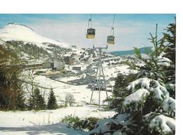 63 Super Besse Station De Ski  Telecabine De La Perdrix - Besse Et Saint Anastaise
