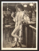 Pin Up Nude Woman Girl Old Photo 9x6 Cm #25516 - Pin-ups