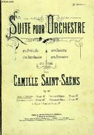 SUITE POUR ORCHESTRE - SAINT-SAENS Camille - 0 - Music