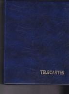 Classeur Télécartes Avec 25 Feuilles Pour 200 Cartes - Supplies And Equipment